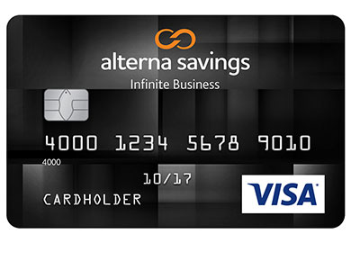 Alterna Visa Infinite Business Card