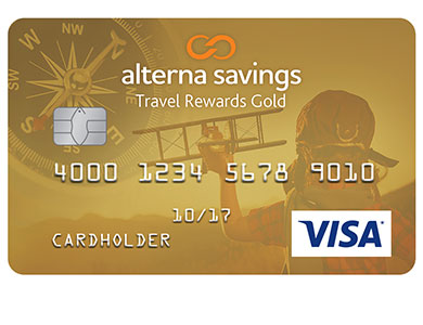 Alterna Visa Travel Rewards Gold Card