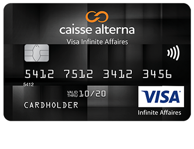 Business Card - Visa Infinite Affaires*