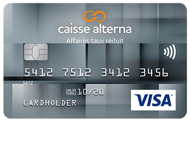 Alterna Visa Low Rate Business Card