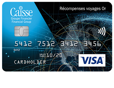 Personal Card - Visa* Récompenses voyages Or