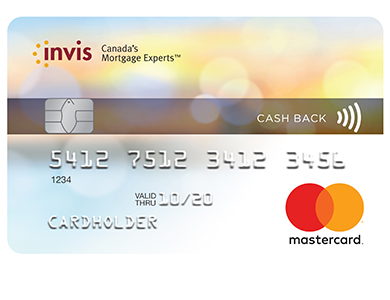 Invis Cash Back MasterCard