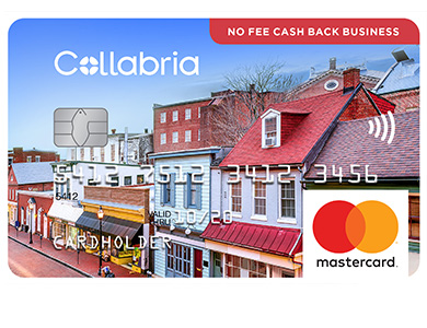 Collabria No Fee Cash Back Business MasterCard