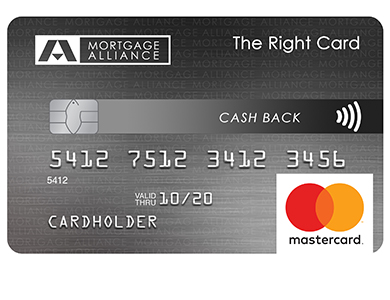 Mortgage Alliance Cash Back MasterCard