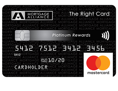 Mortgage Alliance Platinum Rewards MasterCard