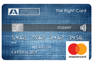 Mortgage Alliance Student MasterCard