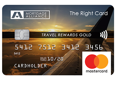 Mortgage Alliance Travel Rewards Gold MasterCard