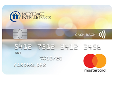 Mortgage Intelligence Cash Back MasterCard