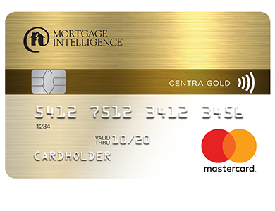 Mortgage Intelligence Centra Gold MasterCard