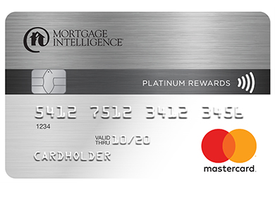 Mortgage Intelligence Platinum Rewards MasterCard