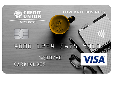 Visa* Low Rate Business Card
