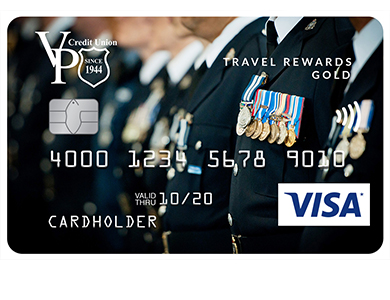 "Personal Card - Travel Rewards&nbsp;Visa<sup><font size=""2"">*</font></sup> Gold Card"