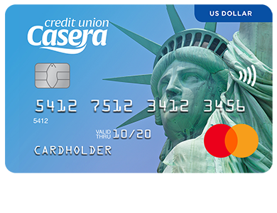 "Personal Card - US Dollar Mastercard<sup><font size=""2"">®</font></sup>"