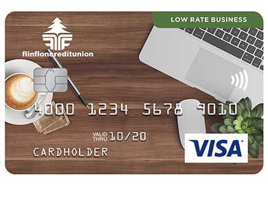 Business Card - Low Rate Visa* Business Card