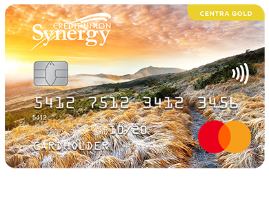 Personal Card - Centra Gold Mastercard<sup>®</sup>