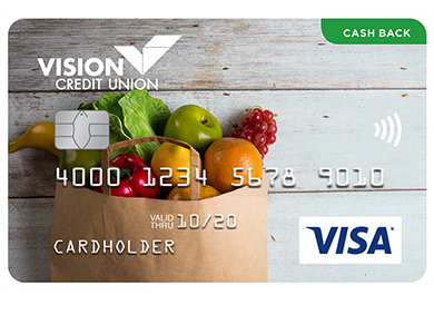 Visa* Cash Back Card