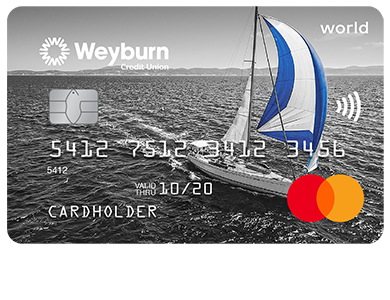Personal Card - Mastercard<sup>MD</sup> World