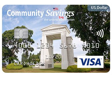 Visa* US Dollar Card