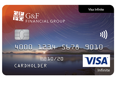 Personal Card - Visa Infinite* Card