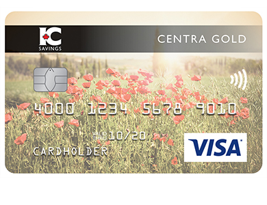 Personal Card - Visa* Centra Or