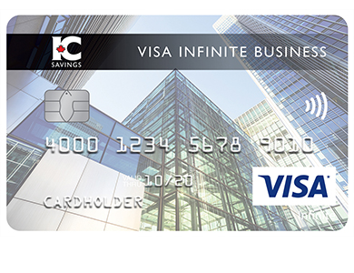 Visa* Infinite Business Card