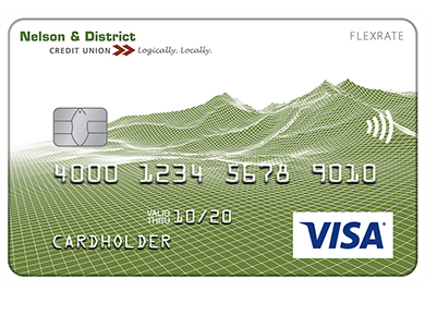 Visa* Flex Card