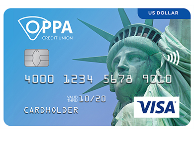 Personal Card - US Dollar Visa* Card