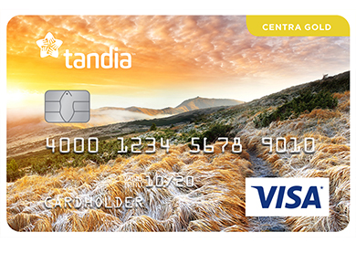 Personal Card - Centra Visa* Gold Card