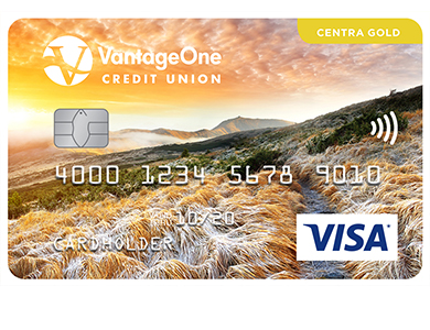 Personal Card - <p>Centra Visa* Gold Card</p>