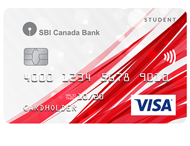 SBIC Visa Student Card