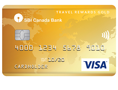 SBIC Visa Travel Rewards Gold Card