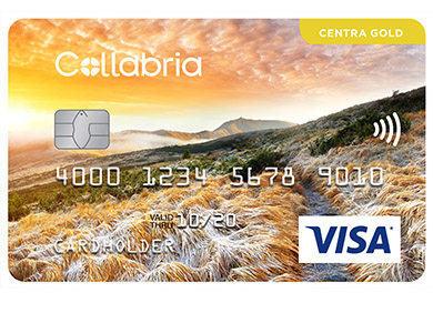 Collabria Visa Centra Gold Card