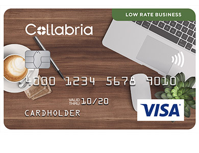 Collabria Visa Low Rate Business Card