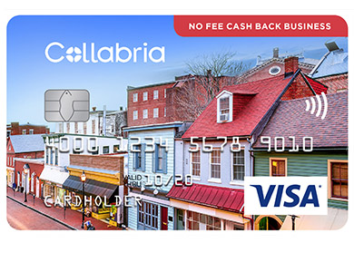 Collabria Visa No Fee Cash Back Business Card