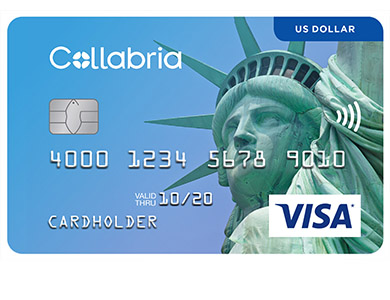 Collabria Visa US Dollar Card