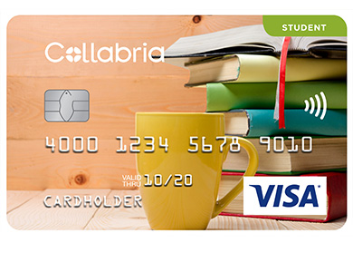 Collabria Visa Student Card